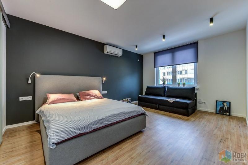 Ремонт однокомнатной квартиры для брутального мужчины