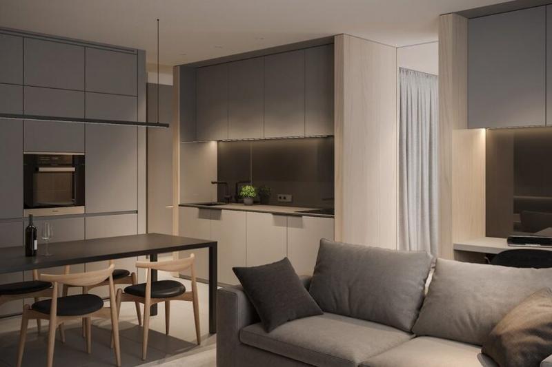 5 интерьеров однокомнатных квартир, которые хочется повторить