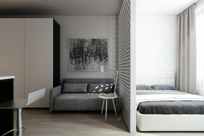 Квартира 30 кв. м в стиле минимализм
