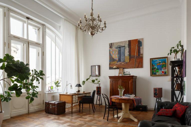 Квартира дизайнера Алены Светлицы в Санкт-Петербурге, 95 м²