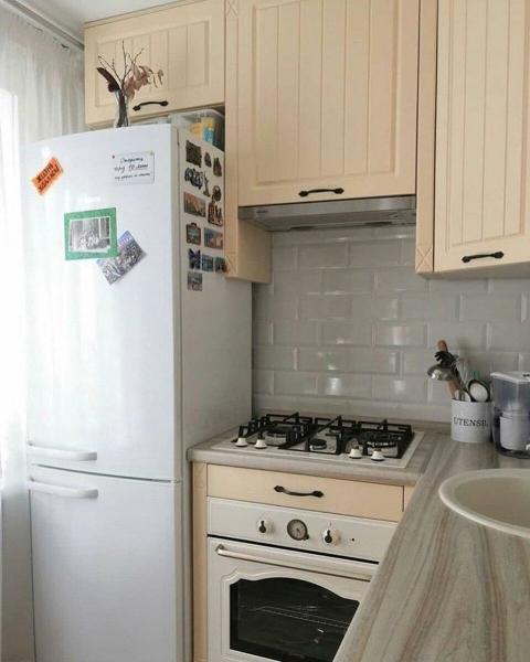 Бюджетный ремонт кухни в старой хрущевке