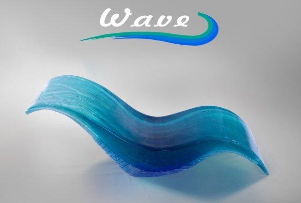 Эксклюзивное кресло в виде волны от Эдуарда Локота