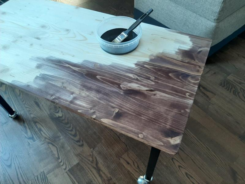 Как я сделал крутой стол не выходя из дома