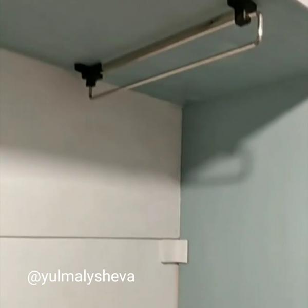 Как мы сами делали нестандартный шкаф в коридор