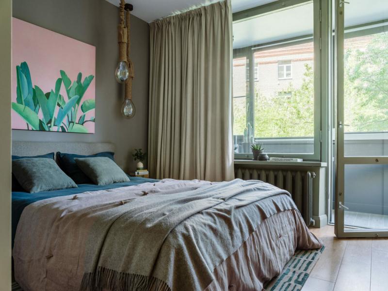 Квартира в доме 60-х годов в Хамовниках, 60 м²
