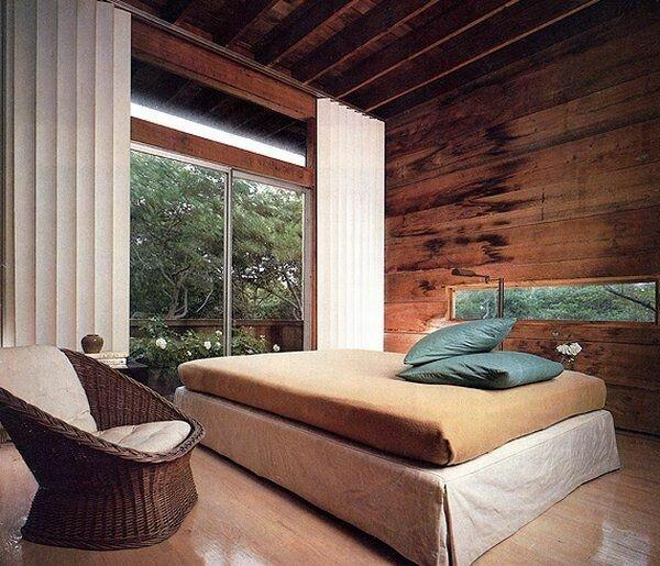 Отделка деревом стен: варианты дизайнерского подхода