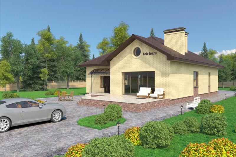 Проект дома 156м2