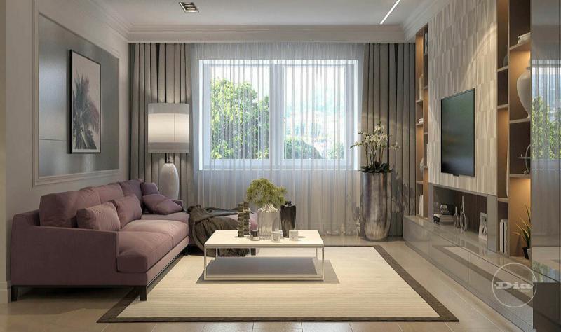 Светлый современный дизайн интерьера трехкомнатной квартиры