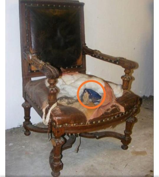 Что нашел в спинке старинного стула реставратор