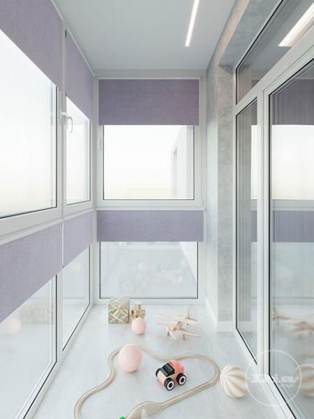 Дизайн трехкомнатной квартиры с черно-белым фоном