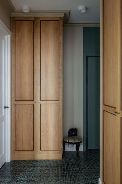 Квартира в нейтральных оттенках, 58 м²