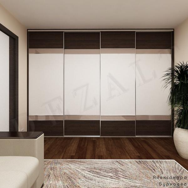 Шкафы-купе от дизайнера Александры Бурнаевой