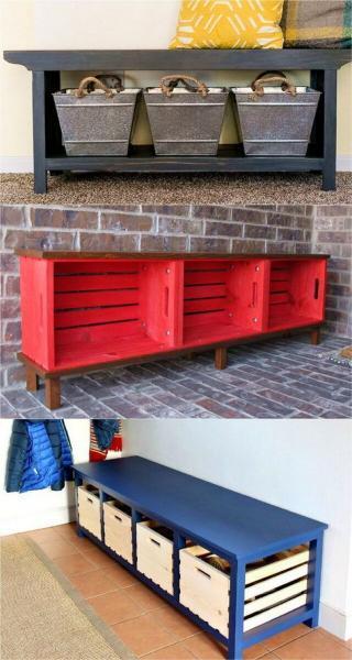 Что еще можно сделать из поддонов: эффектная мебель на дачу