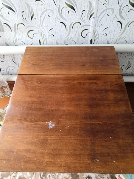 Из советского стола-книжки в сканди-стол. Переделка поколений