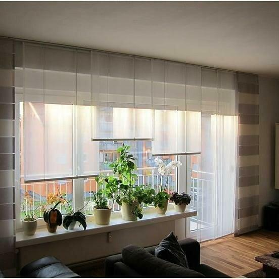 Шторы для балконного блока