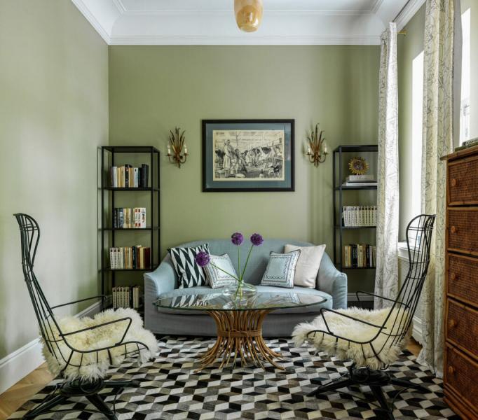 Стеллаж в интерьере: как использовать в гостиной, спальне и детской