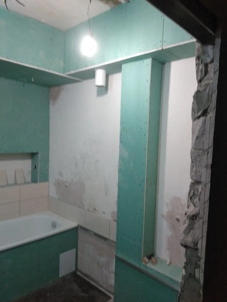 Необычное решение ремонта для маленькой ванной комнаты