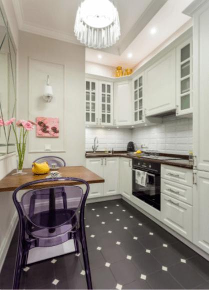 Белая кухня - современный взгляд на классику. 35 стильных и функциональных белых кухонь