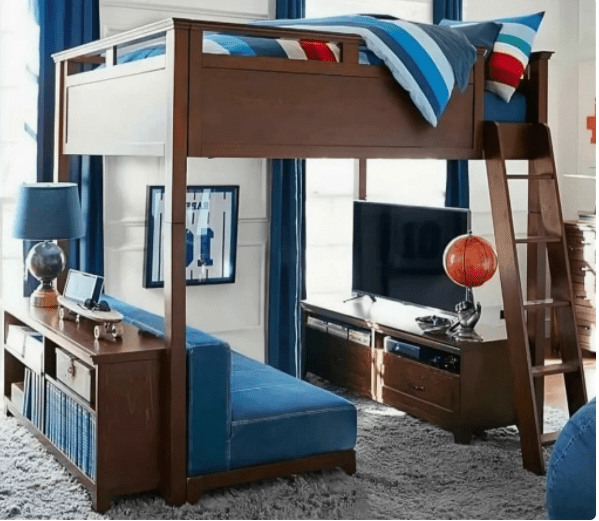 Два, три, четыре в одном... Много-функциональная мебель для детской комнаты