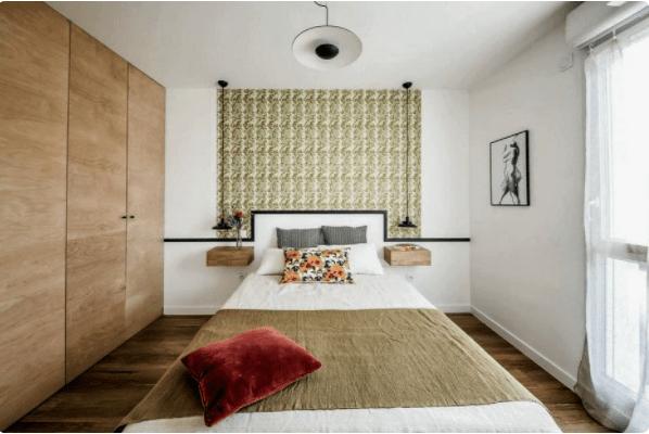 А можно ли разместить гардеробную в небольшой спальне? Безусловно! 6 наглядных примеров