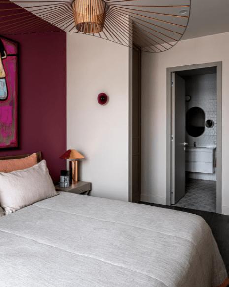 Квартира с цветом 59 м²