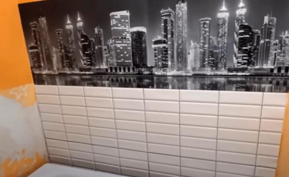 Девушка своими руками сделала ремонт ванной комнаты всего за 3 тыс. рублей!
