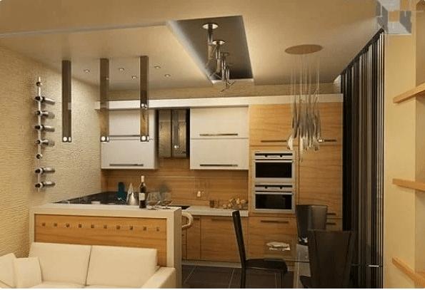Маленькая кухня гостиная – определяем зоны, фото варианты с ценами и советы по обустройству