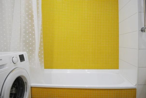 """Просторная и сочная """"хрущевская"""" ванная комната или мечты сбываются!"""