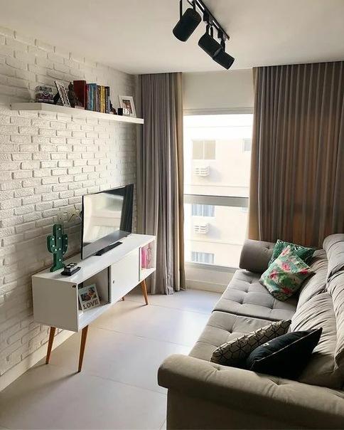 Шикарные идеи для идеальной маленькой гостиной