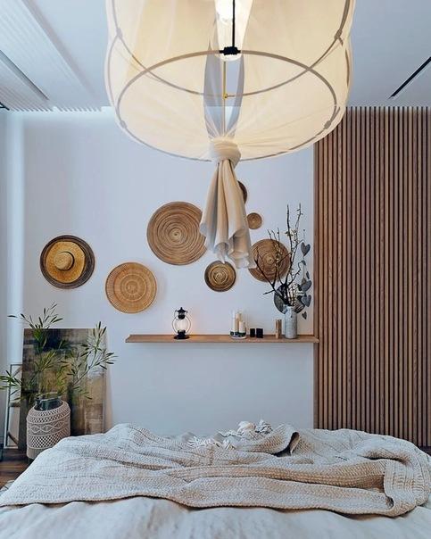 """Расслабляющий и очень уютный интерьер двухкомнатной квартиры в стиле """"бохо"""""""