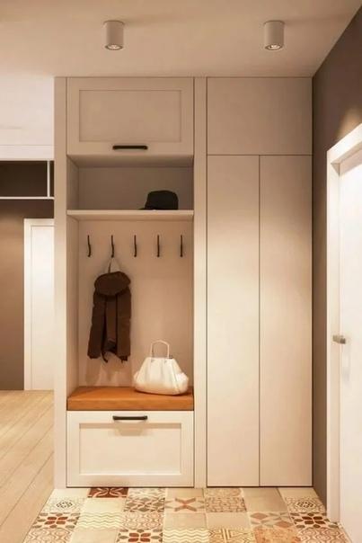 Шкаф в прихожую. Дизайн и оснащение. 17 важных рекомендаций