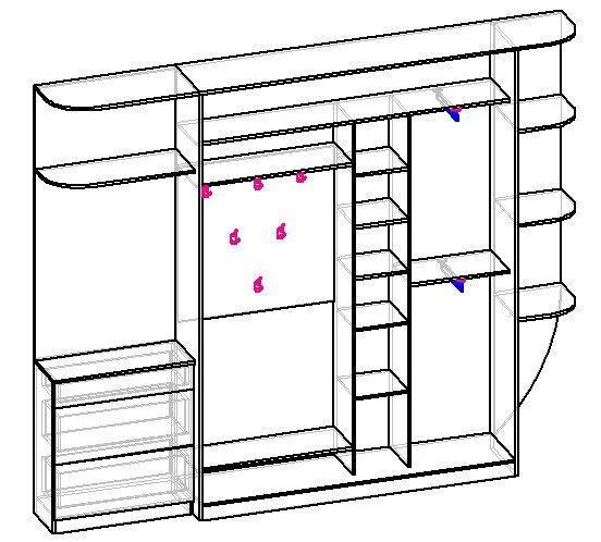 Самый узкий шкаф-купе. При какой глубине его вообще есть смысл делать в прихожей-хрущевке коридорного типа