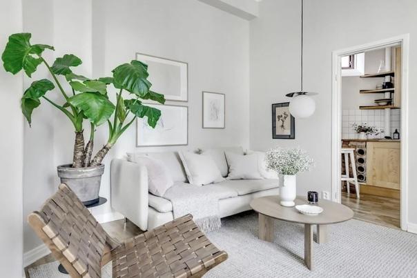 Минималистичный дизайн гостиной пробудит музу внутри вас