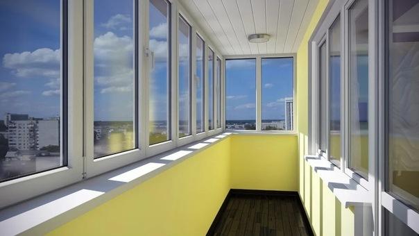 Остекление балконов: типы и способы