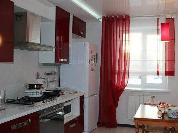Шторы для маленькой кухни – варианты разных стилей с фото и ценами