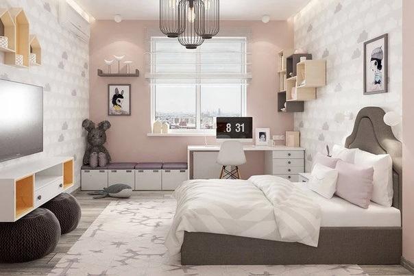 Идеи дизайна детской комнаты для девочек