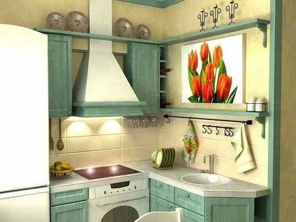 Оформляем маленькую кухню по правилам