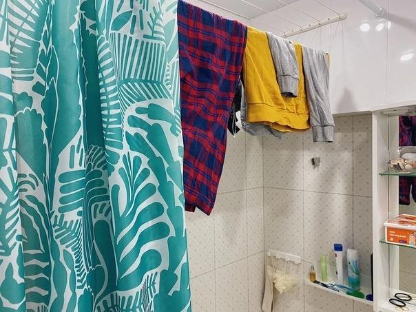 Где стирать и сушить вещи, если вообще негде? Делюсь тем, как решила проблему у себя дома