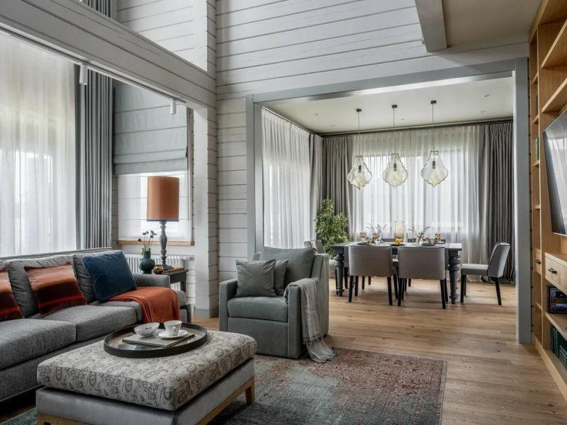 Три современных деревянных интерьера по-русски - 3