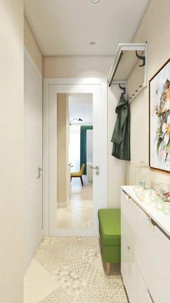 Прихожая для узкого коридора. 16 ключевых особенностей и рекомендаций по дизайну