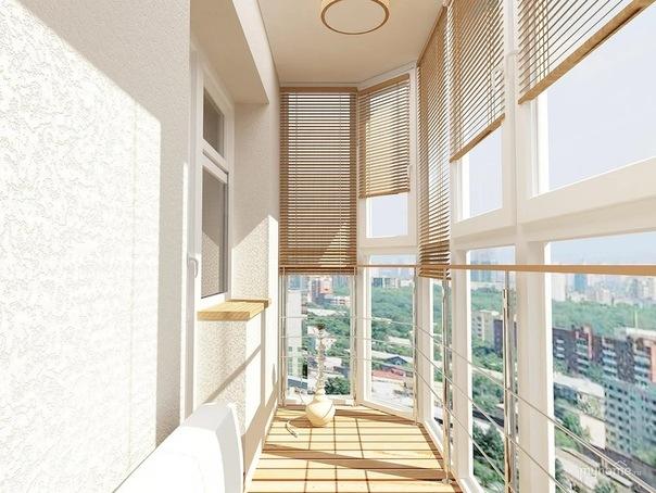 Жалюзи на балкон: подбираем цветовую гамму
