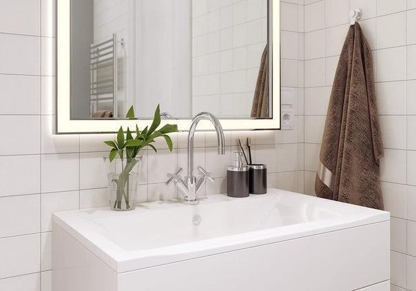 Функциональный интерьер однокомнатной квартиры - нейтральные цвета и мебель из ИКЕА