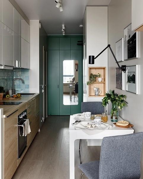 Квартира для мамы 34 м²