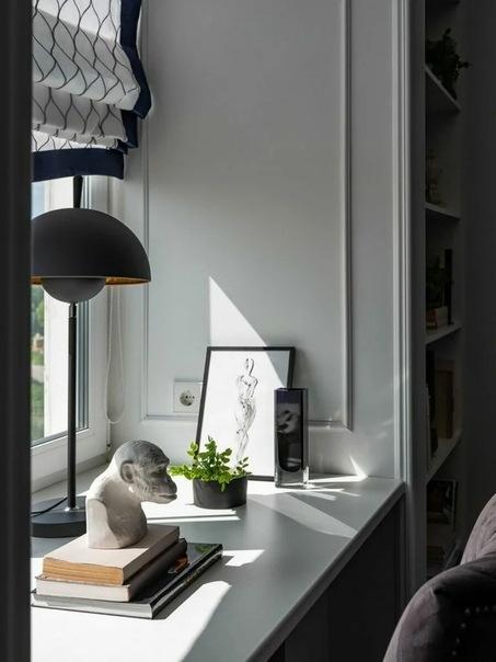 Интересные планировочные решения и современная классика в интерьере двухкомнатной квартиры