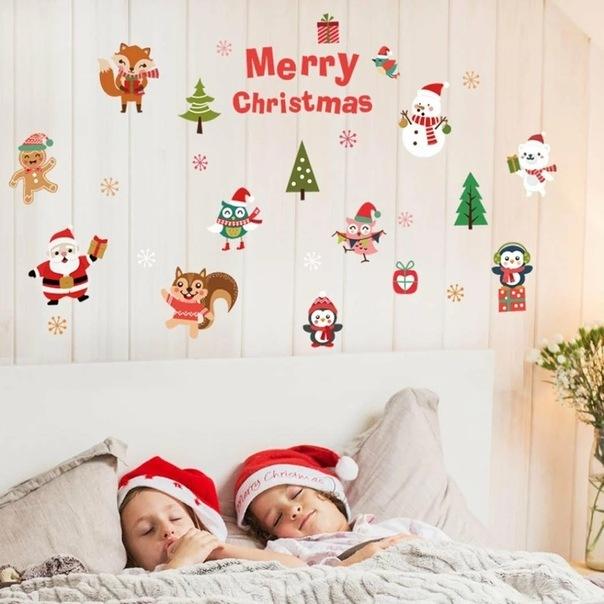 Украшение детской комнаты на Новый год: фото и идеи