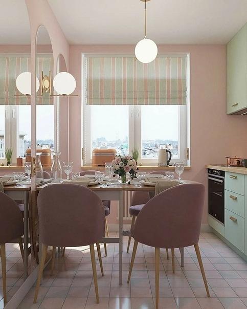 12 кухонь площадью всего 5 кв. м, которые удивят продуманным дизайном
