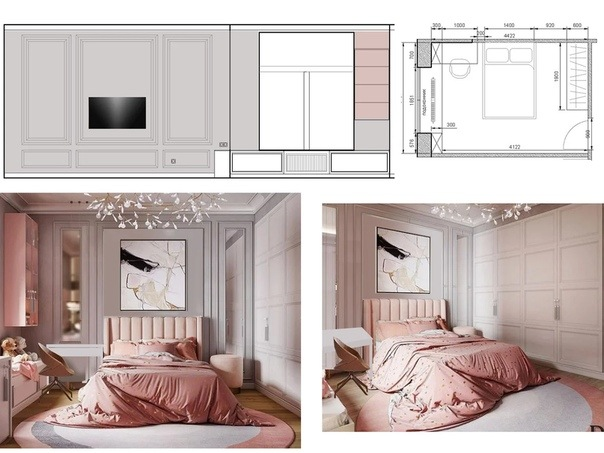 Дизайн квартиры 115м2