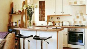 Маленькая кухня-гостиная. Планировка, мебель, дизайн. 19 рекомендаций
