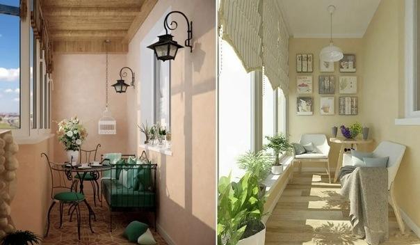Оформление балкона: лучшие варианты украшения лоджии