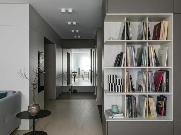 Квартира с необычной планировкой в Минске, 74 м²